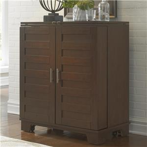 Wine Cabinet with Fully Stained Interior Drawers