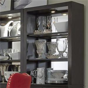 Liberty Furniture Platinum Curio Hutch