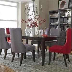 Liberty Furniture Platinum Leg Table