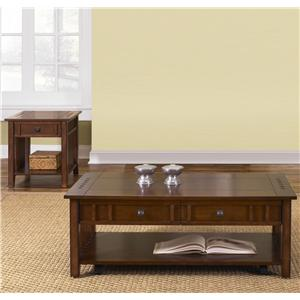 Three-Piece Occasional Table Set