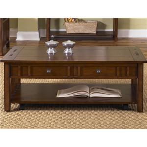 Liberty Furniture Prairie Hills Cocktail Table