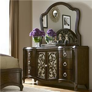 Liberty Furniture Rue Royale  Dresser and Mirror
