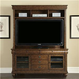 Liberty Furniture Rustic Traditions Entertainment Center