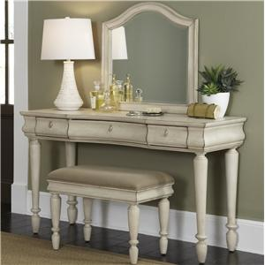 Liberty Furniture Rustic Traditions Vanity Set