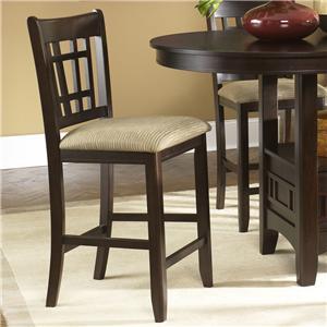 24 Inch Upholstered Barstool