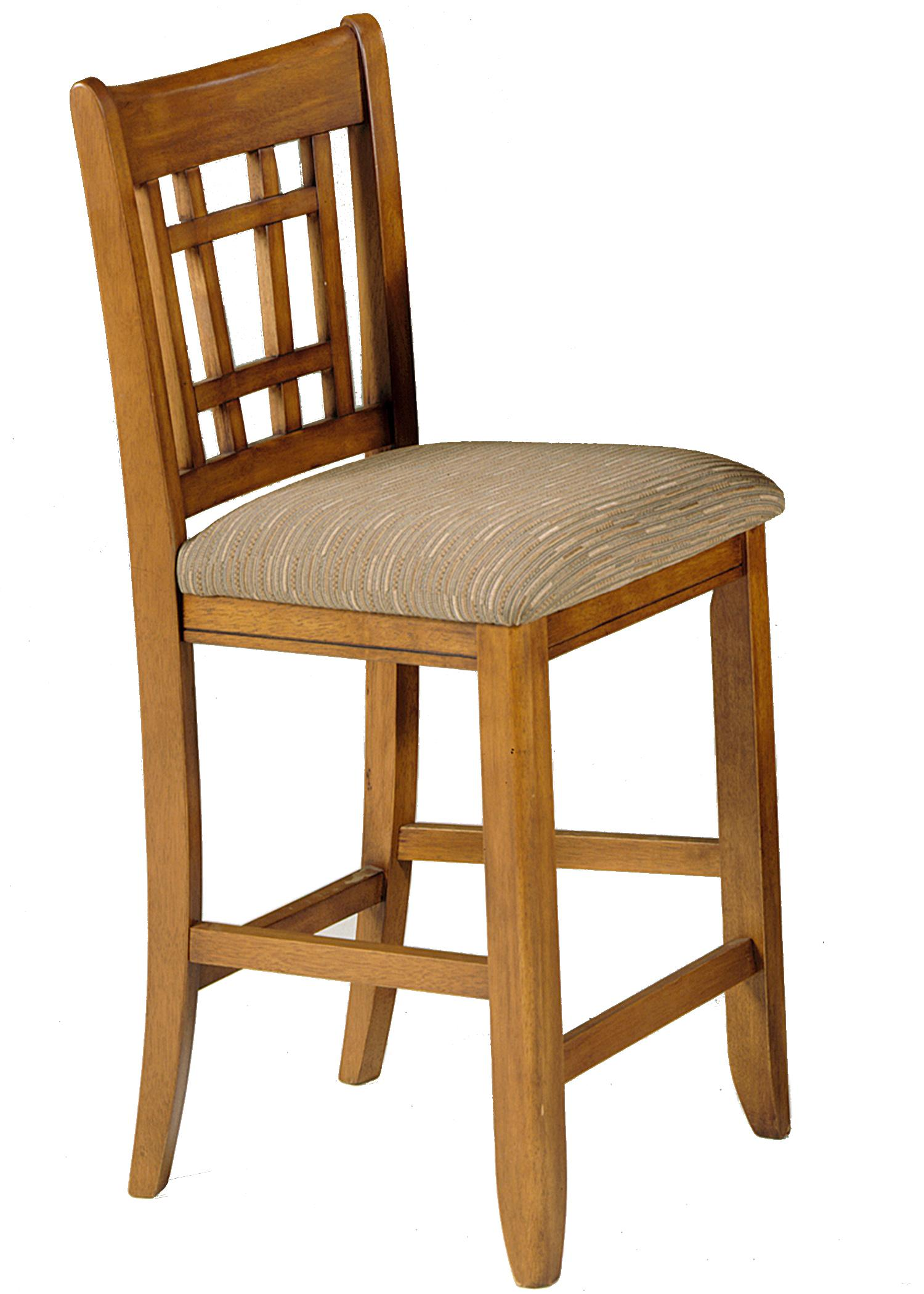 30 Inch Mission Bar Stool By Liberty Furniture Wolf And