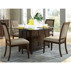 Liberty Furniture Saxton 5 Piece Rectangular Table Set
