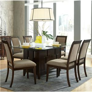Liberty Furniture Saxton 7 Piece Rectangular Table Set