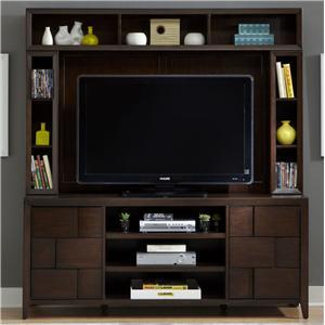 Liberty Furniture Saxton Entertainment Center