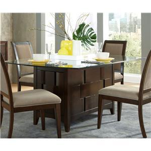 Liberty Furniture Saxton Pedestal Dining Table
