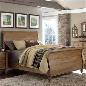 Liberty Furniture Southern Pines Queen Size Sleigh Bed
