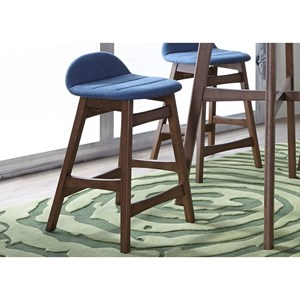 Barstool with Upholstered Seating