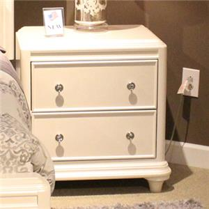 Liberty Furniture Stardust 2-Drawer Nightstand