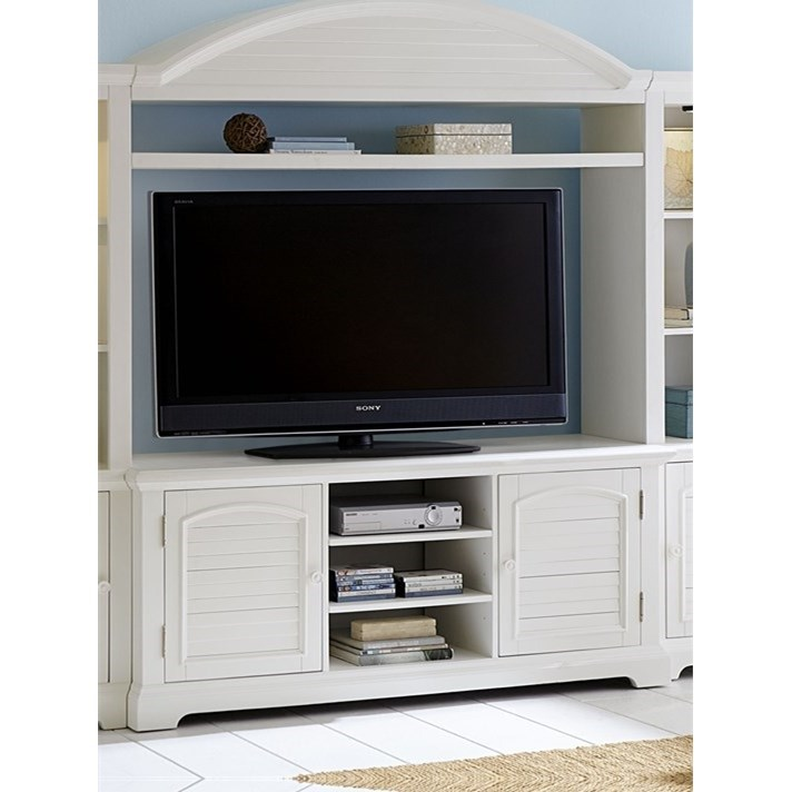 Entertainment Center with LED Touch Lighting