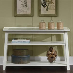Sofa Table with 2 Lower Shelves