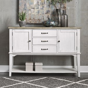 Cottage Style Two-Toned Server