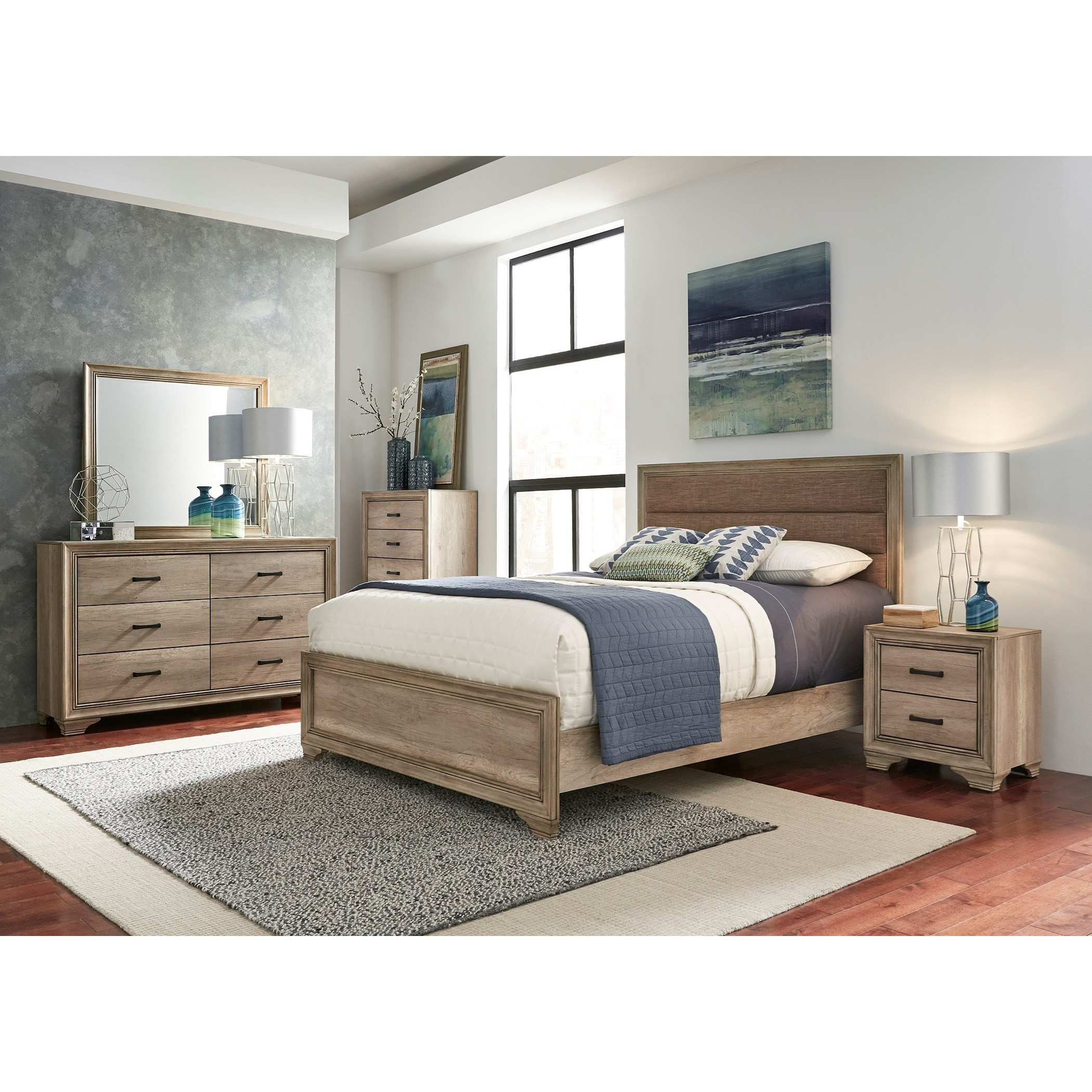 By Liberty Furniture. Queen Bedroom Group
