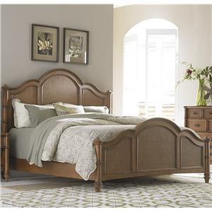 Liberty Furniture Sunset Key King Poster Bed