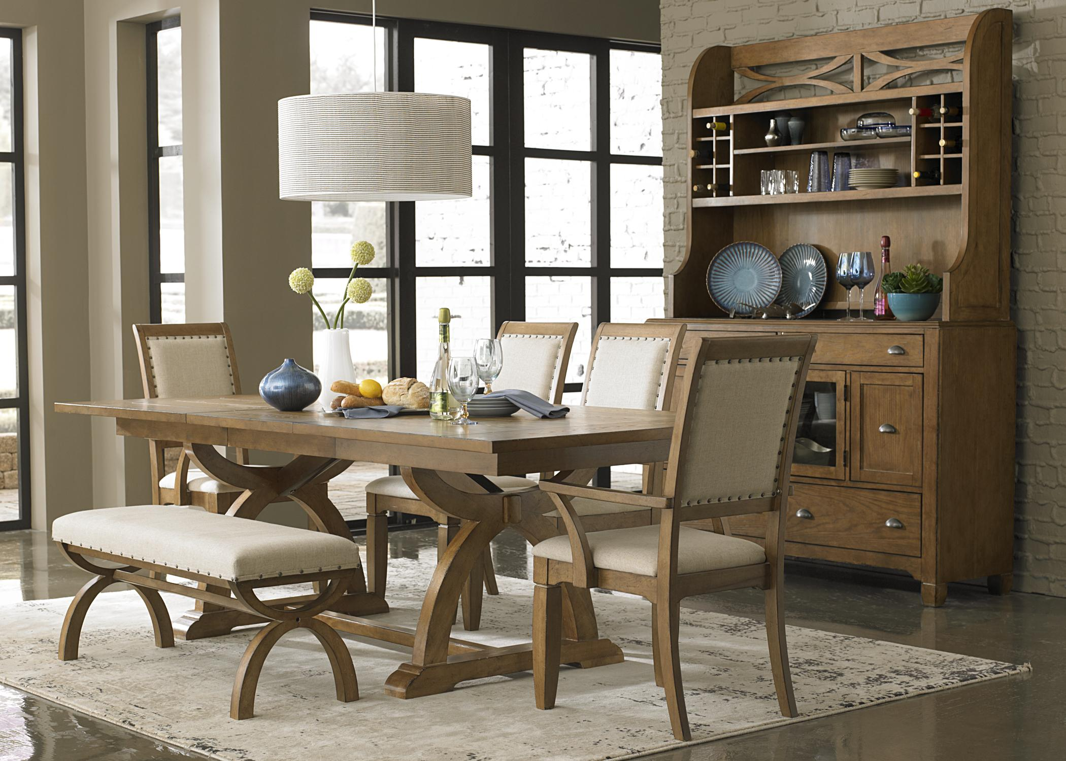 Rustic buffet table furniture - Hutch Buffet