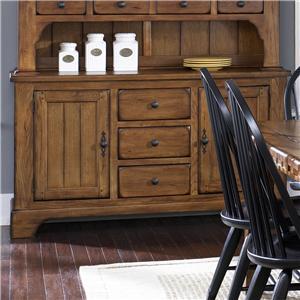 Liberty Furniture Treasures  2 Door Buffet