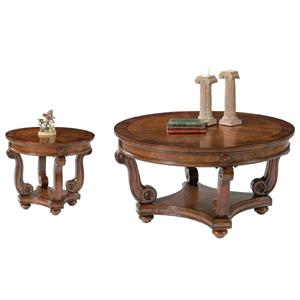 Liberty Furniture Victorian Manor  3 Piece Occasional Tables