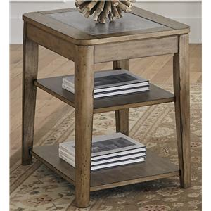 Liberty Furniture Weatherford  Chair Side Table
