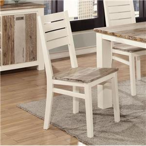 Lifestyle Tommy Two Tone Dining Side Chair
