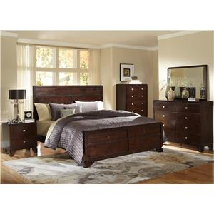 Lifestyle 2180A 4 Piece Queen Bedroom Group