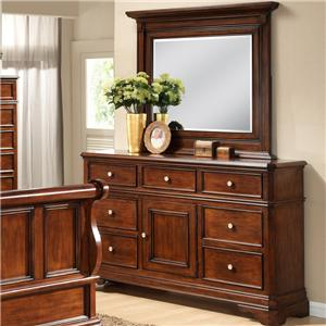 Lifestyle 3185A Dresser and Mirror