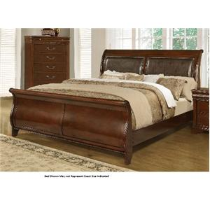 Lifestyle 4116A- Misk Queen Sleigh Bed