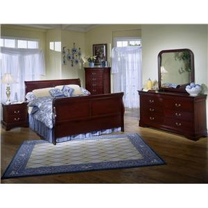 Lifestyle 5933 6 Piece Bedroom Group