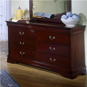 Lifestyle 5933 6 Drawer Dresser