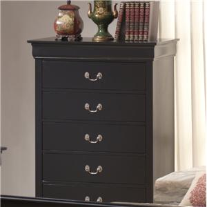 Lifestyle 5934 5 Drawer Chest