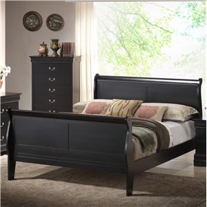 Lifestyle 5934 King Sleigh Bed