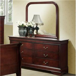 Lifestyle 5933A Dresser and Mirror
