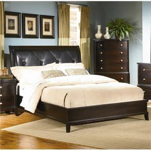 Lifestyle 7185A Queen Upholstered Bed