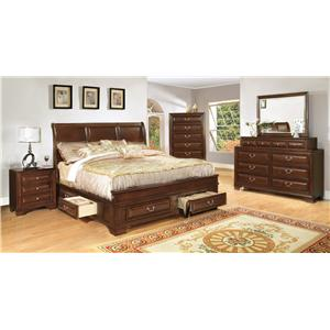 Lifestyle 1192 Queen Bedroom Group