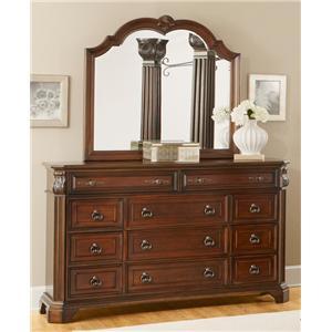 Lifestyle Primrose Dresser and Mirror