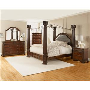 Lifestyle Primrose Queen Canopy Bed