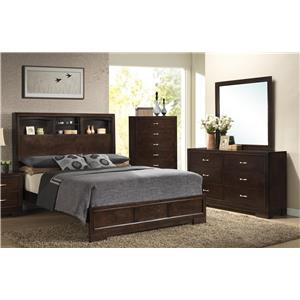 Lifestyle Bookie Bookie Queen Bedroom Group