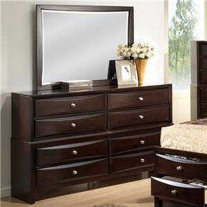 Lifestyle C0172 Dresser and Mirror