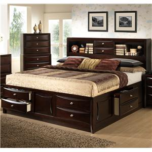Lifestyle C0172 Queen Storage Bed