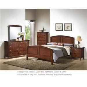 Lifestyle C3136A Bedroom 4PC Queen Bedroom