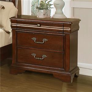 Lifestyle C4116A 3-Drawer Nightstand
