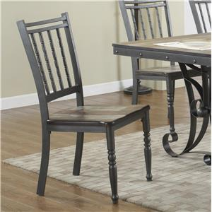 Lifestyle Liles Metal Side Chair