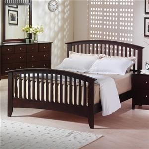Lifestyle Metro Queen Slat Bed