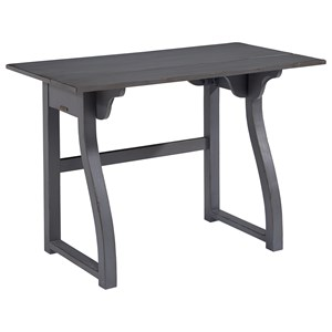 Small Writing Desk with Curvy Legs