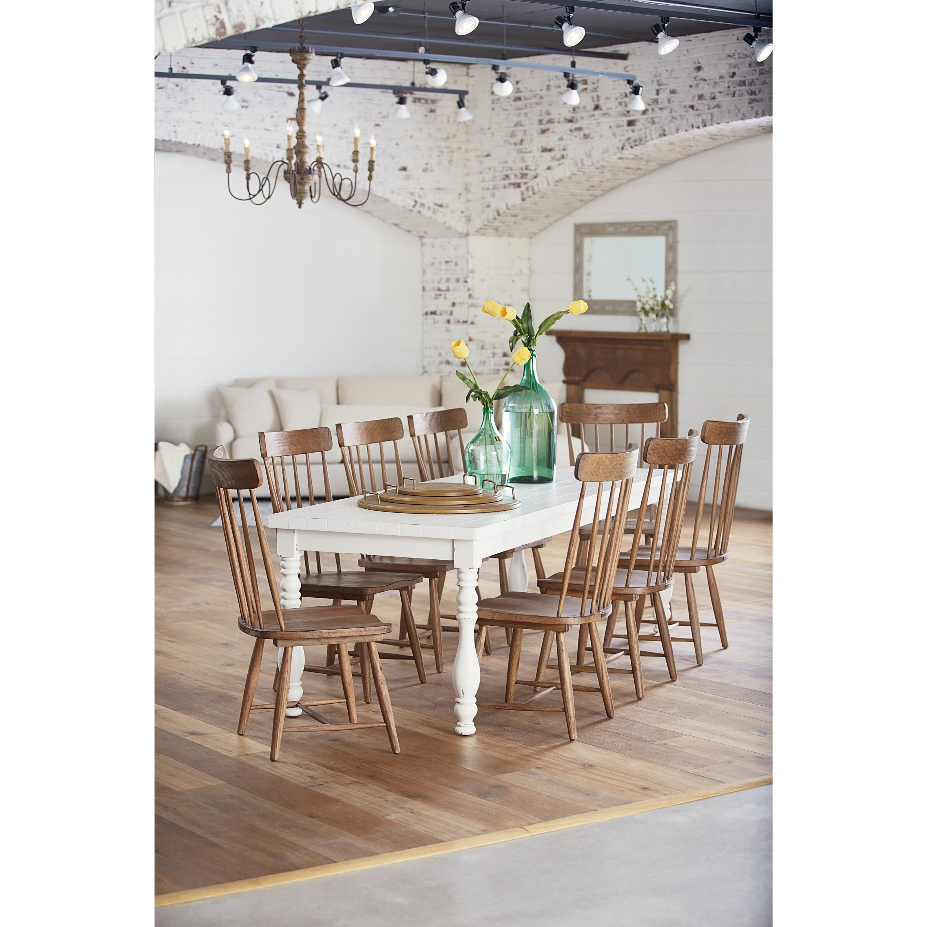 Spindle Back Side Chair By Magnolia Home By Joanna Gaines Wolf And Gardiner Wolf Furniture