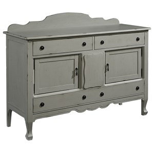 Silhouette Sideboard - Dove Grey