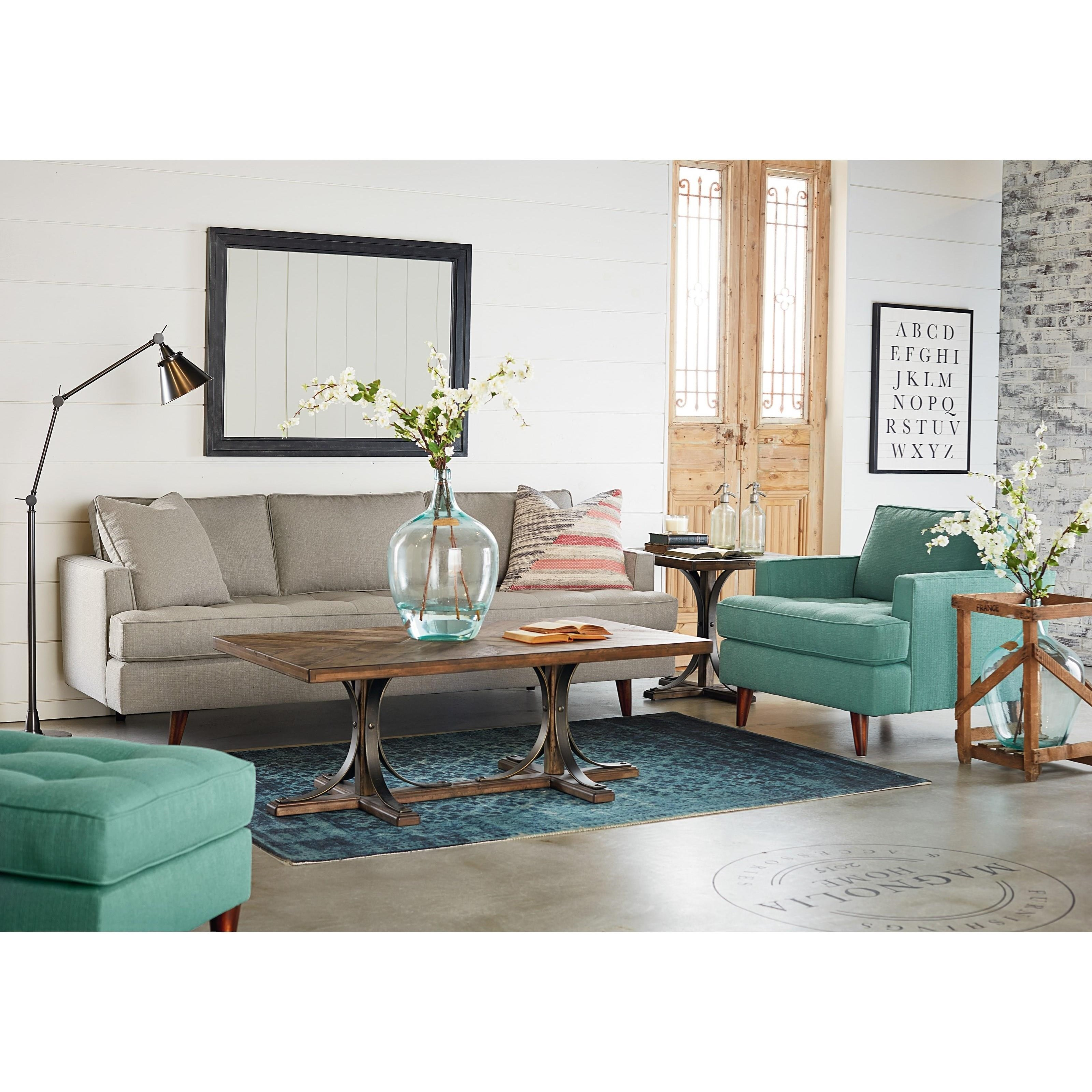 Sofa By Magnolia Home By Joanna Gaines Wolf And Gardiner Wolf Furniture